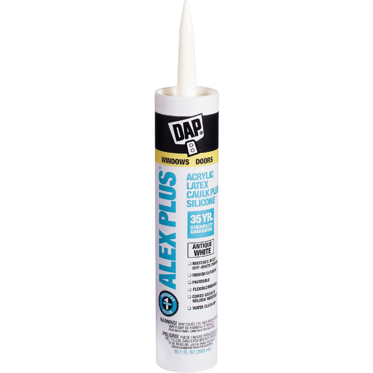 ANTQ WHT ALEX PLUS CAULK - 18172 by Dap Inc