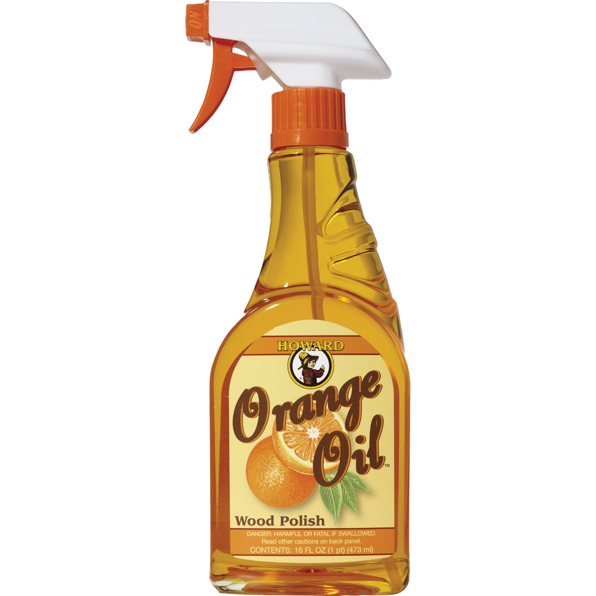 16OZ ORANGE OIL SPRAY - ORS016 by Howard Products