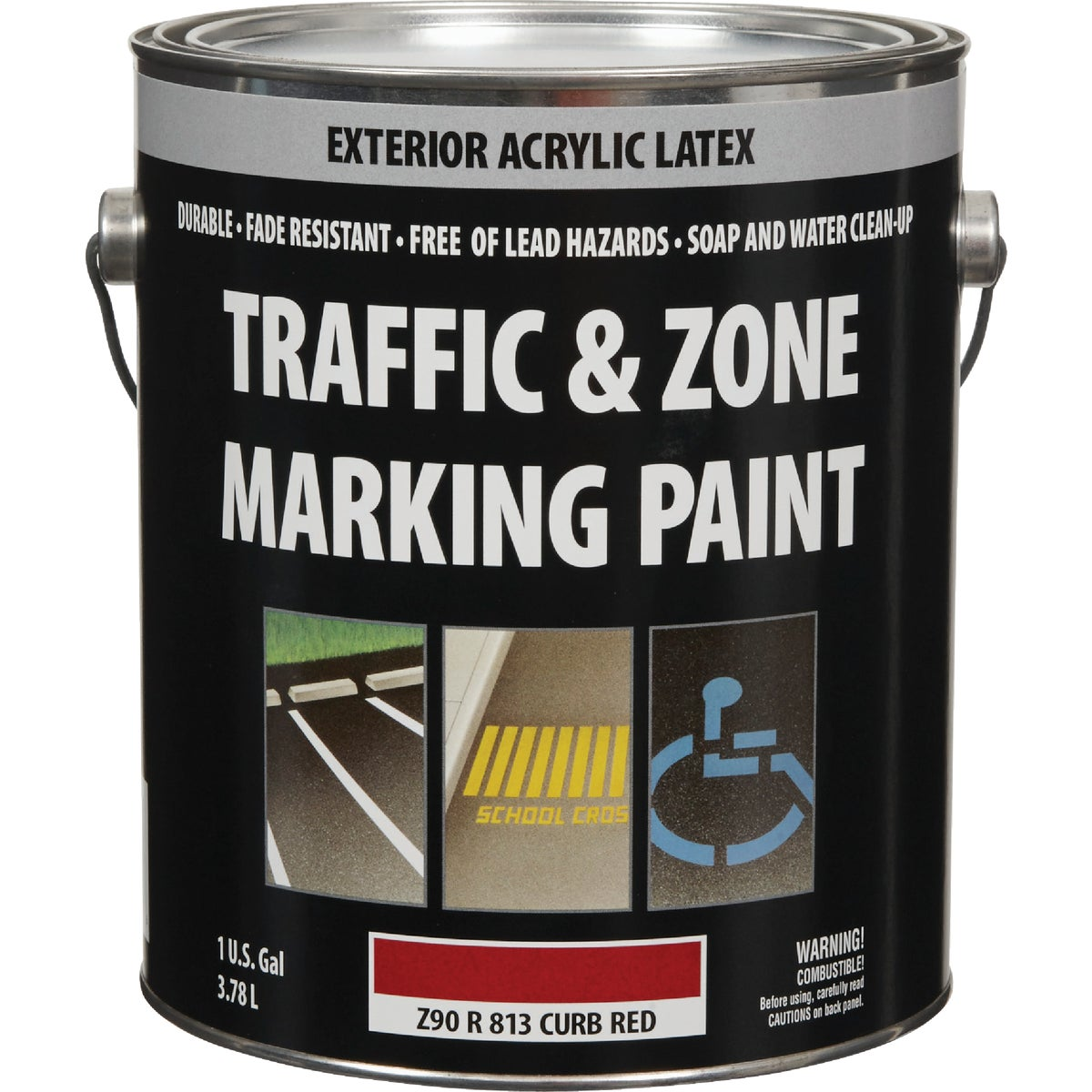 CURB RED LTX MARK PAINT - Z90R00813-16 by Do it Best