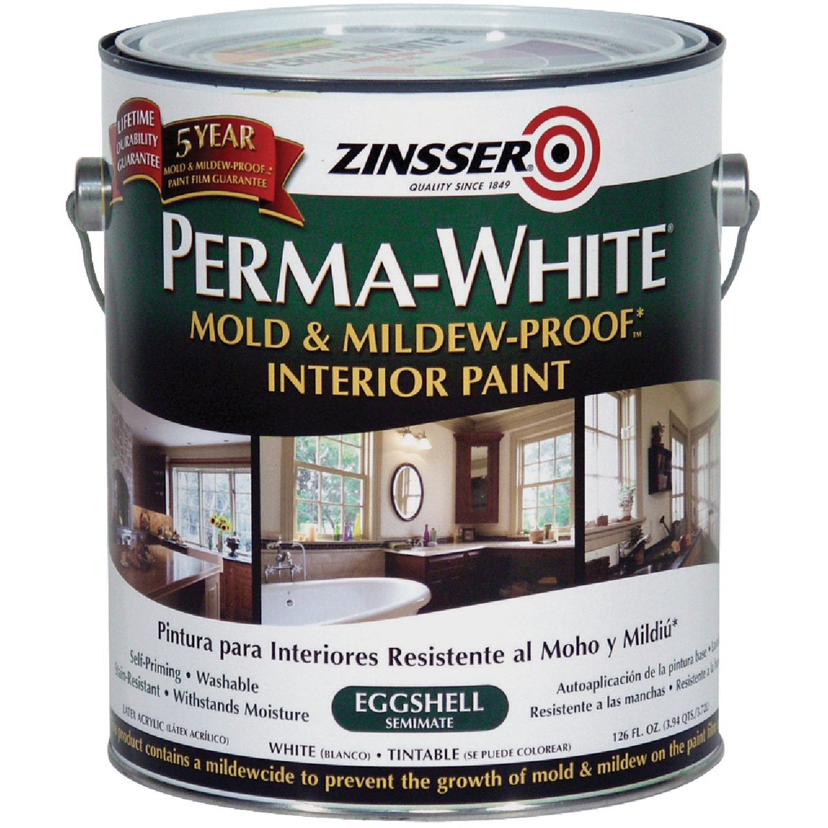 INT EGG WHT MILDEW PAINT - 2771 by Rustoleum
