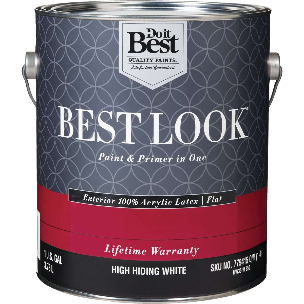 EXT FLT H HIDE WHT PAINT - HW35W0850-16 by Do it Best