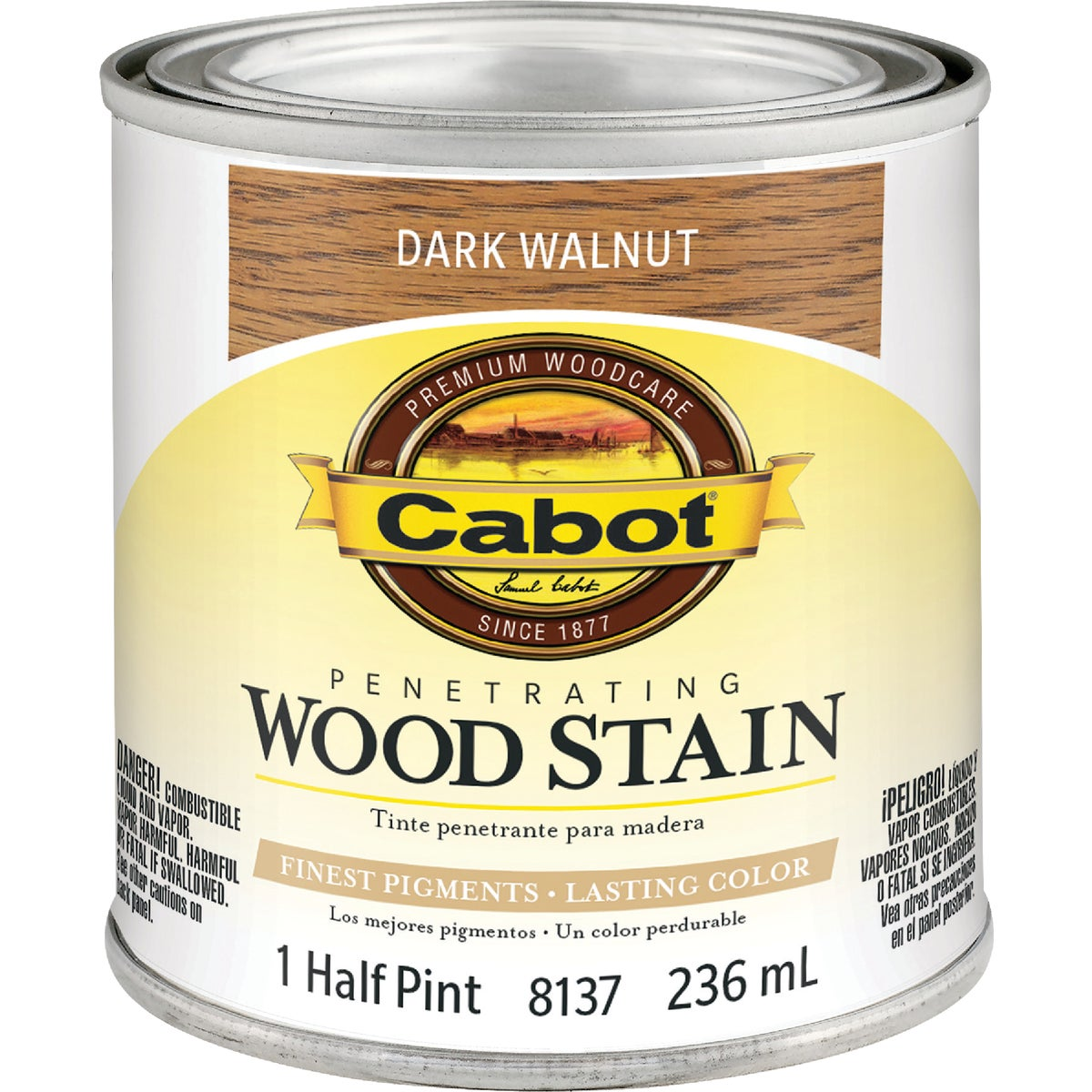 INT DRK WALNT WOOD STAIN - 144.0008137.003 by Valspar Corp