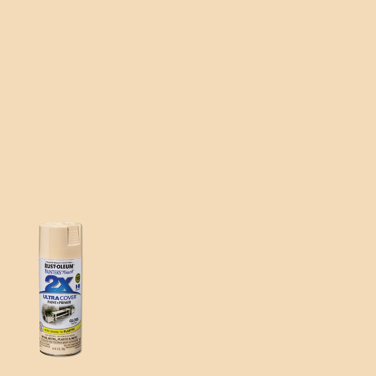IVORY SPRAY PAINT - 249110 by Rustoleum