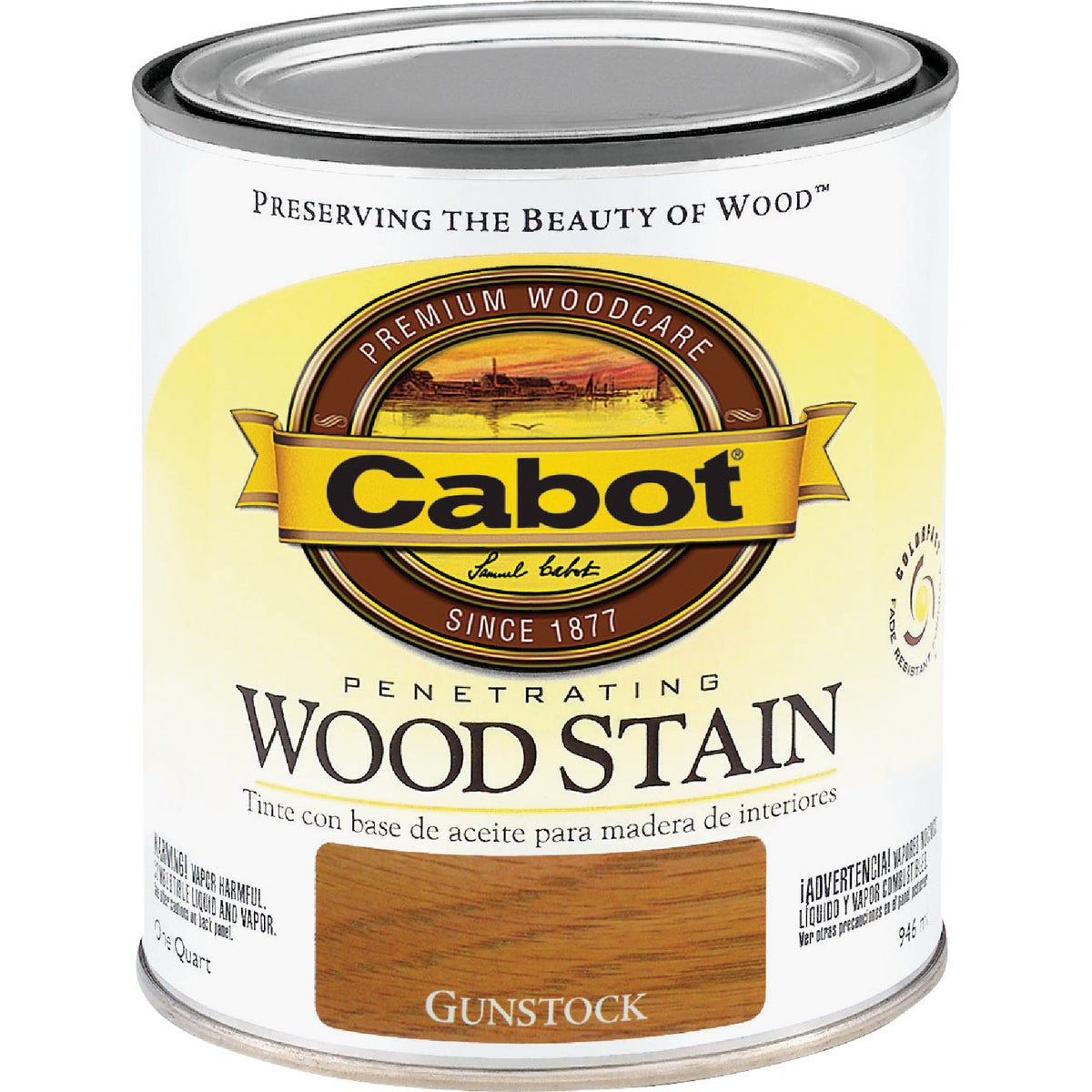 INT GUNSTOCK WOOD STAIN - 144.0008139.005 by Valspar Corp