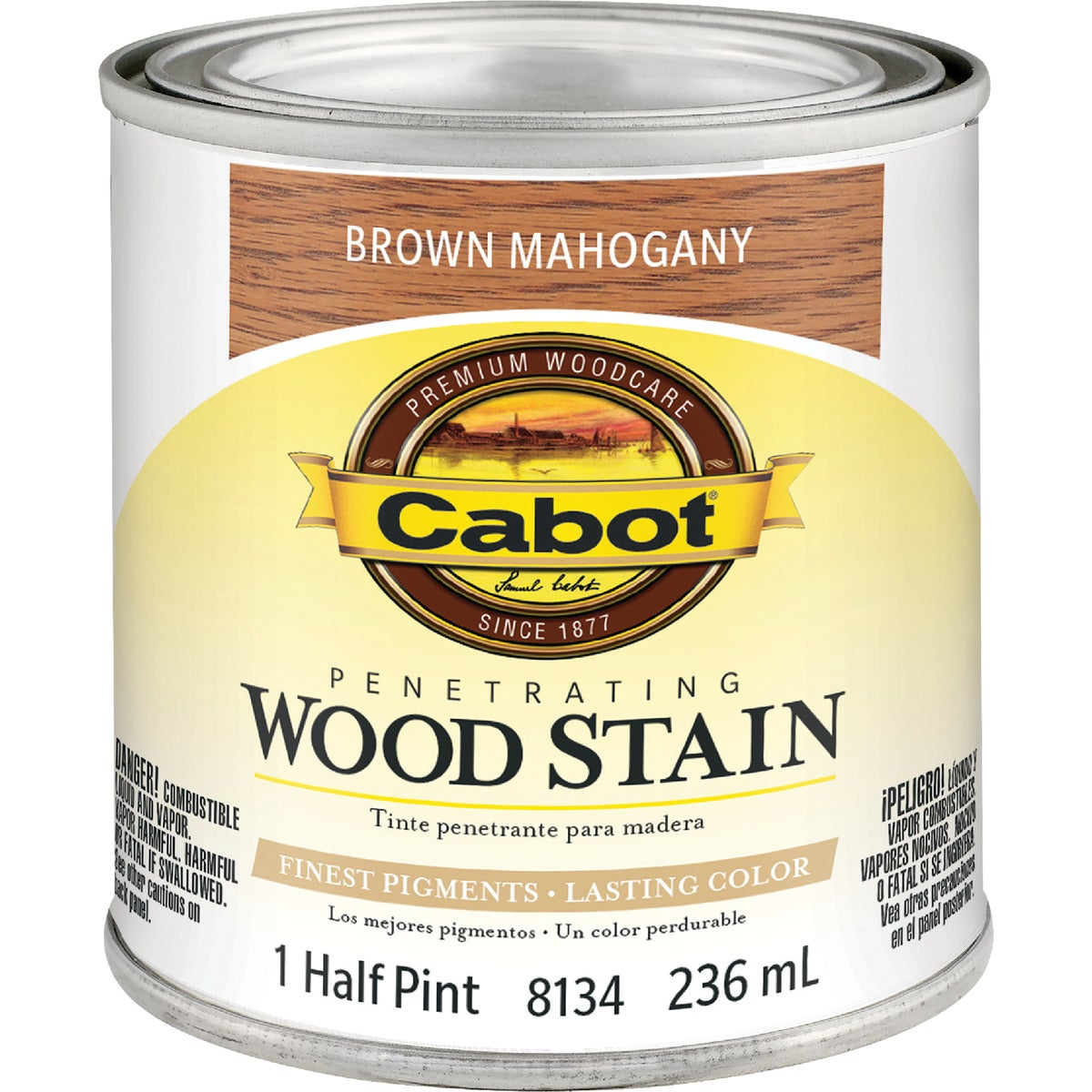 INT BRN MAHOG WOOD STAIN - 144.0008134.003 by Valspar Corp