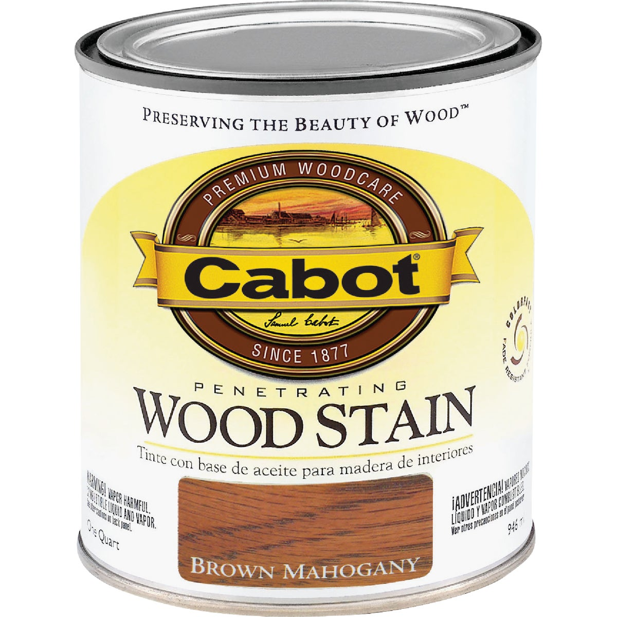 INT BRN MAHOG WOOD STAIN - 144.0008134.005 by Valspar Corp