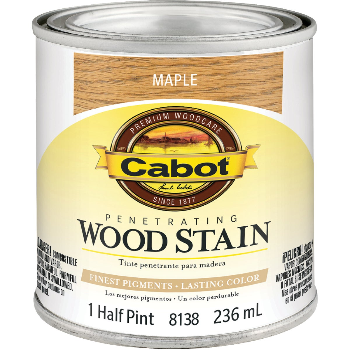 INT MAPLE WOOD STAIN