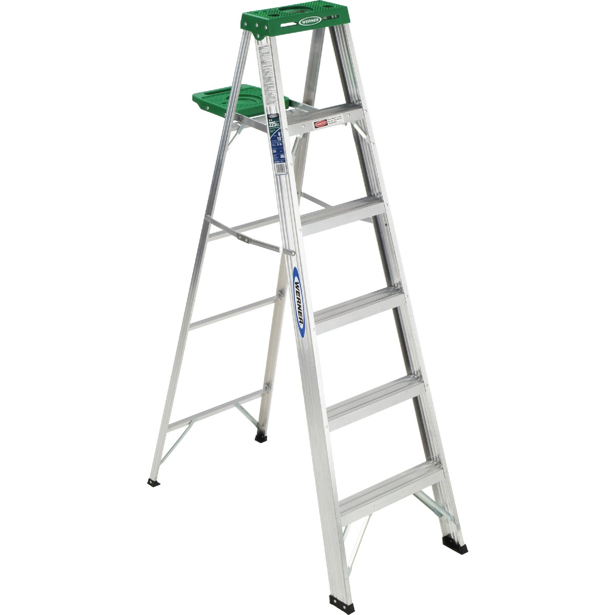 T-2 6' ALUM STEPLADDER - 356 by Werner Co