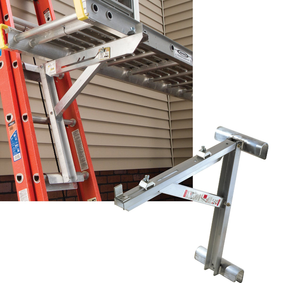 "20"" ALUM LADDER JACKS - AC10-20-02 by Werner Ladder"
