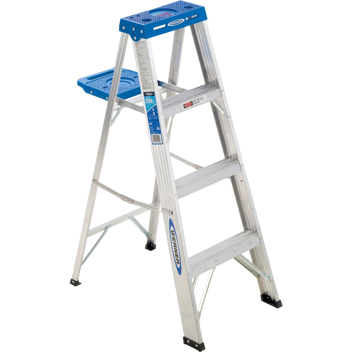 T-1 4' ALUM STEPLADDER - 364 by Werner Ladder