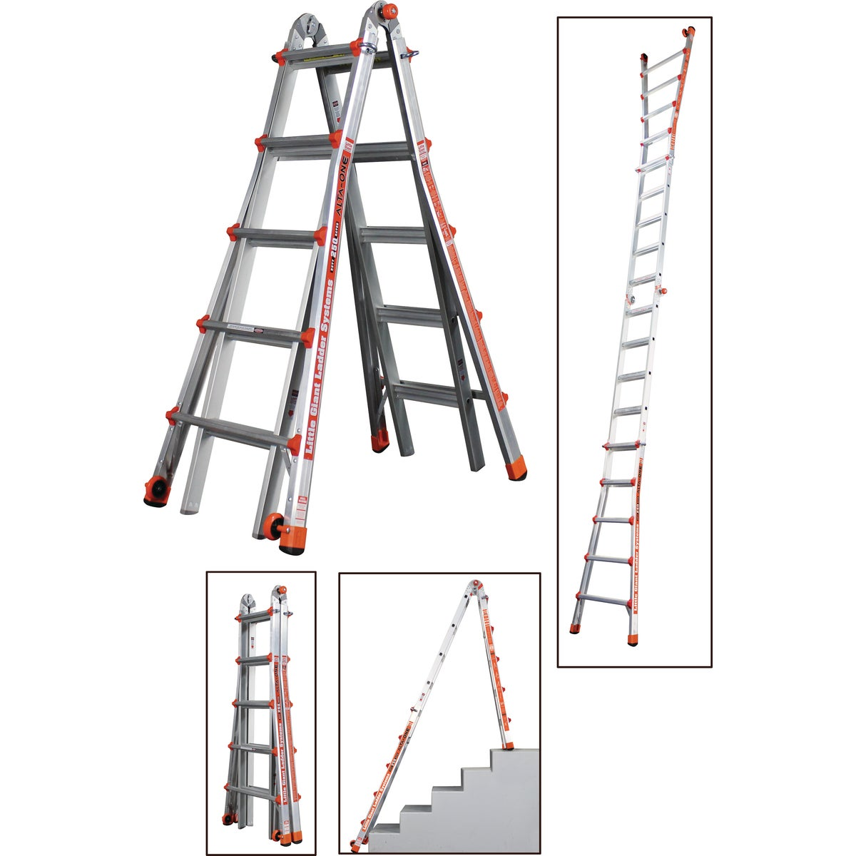 22' TELESCOPING LADDER