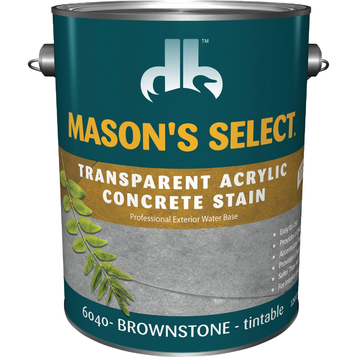 BRWNSTONE CONCRETE STAIN - DB0060404-16 by Duckback Prod