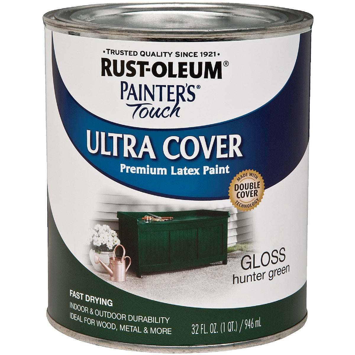HUNTER GREEN LATEX PAINT - 1938-502 by Rustoleum