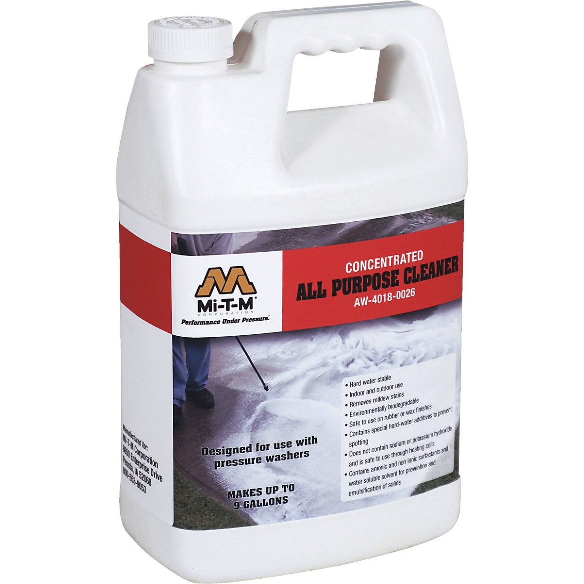 GAL ALL PURPOSE CLEANER - AW-4018-0026 by Mi T M Corp