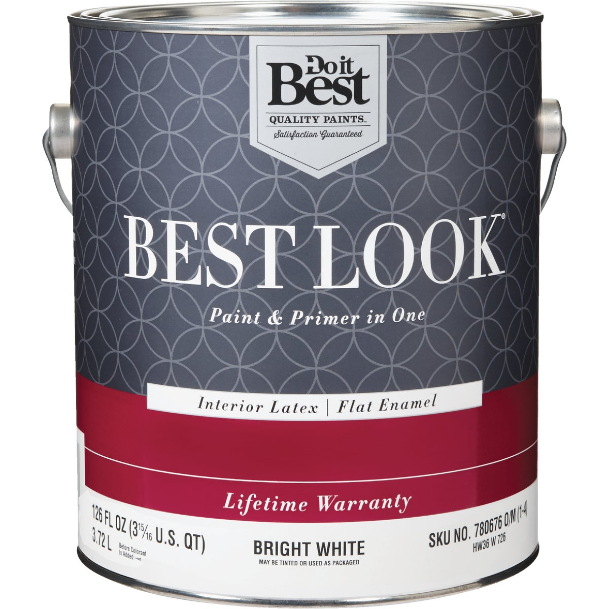 INT FLT BRIGHT WHT PAINT - HW36W0726-16 by Do it Best