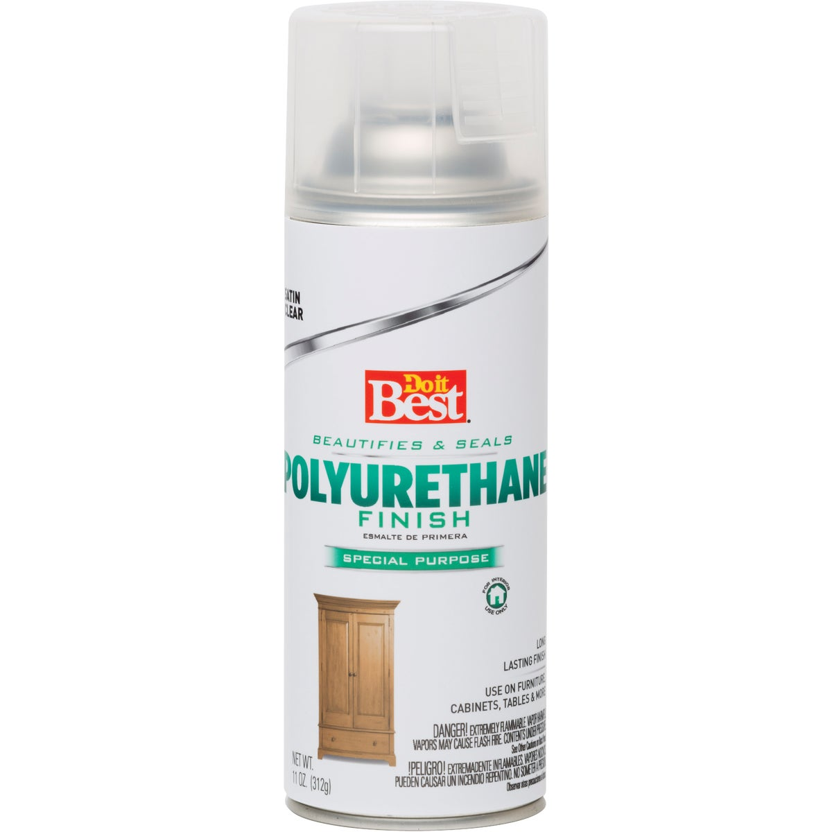 SAT SPRAY POLYURETHANE - 3001 by Rustoleum