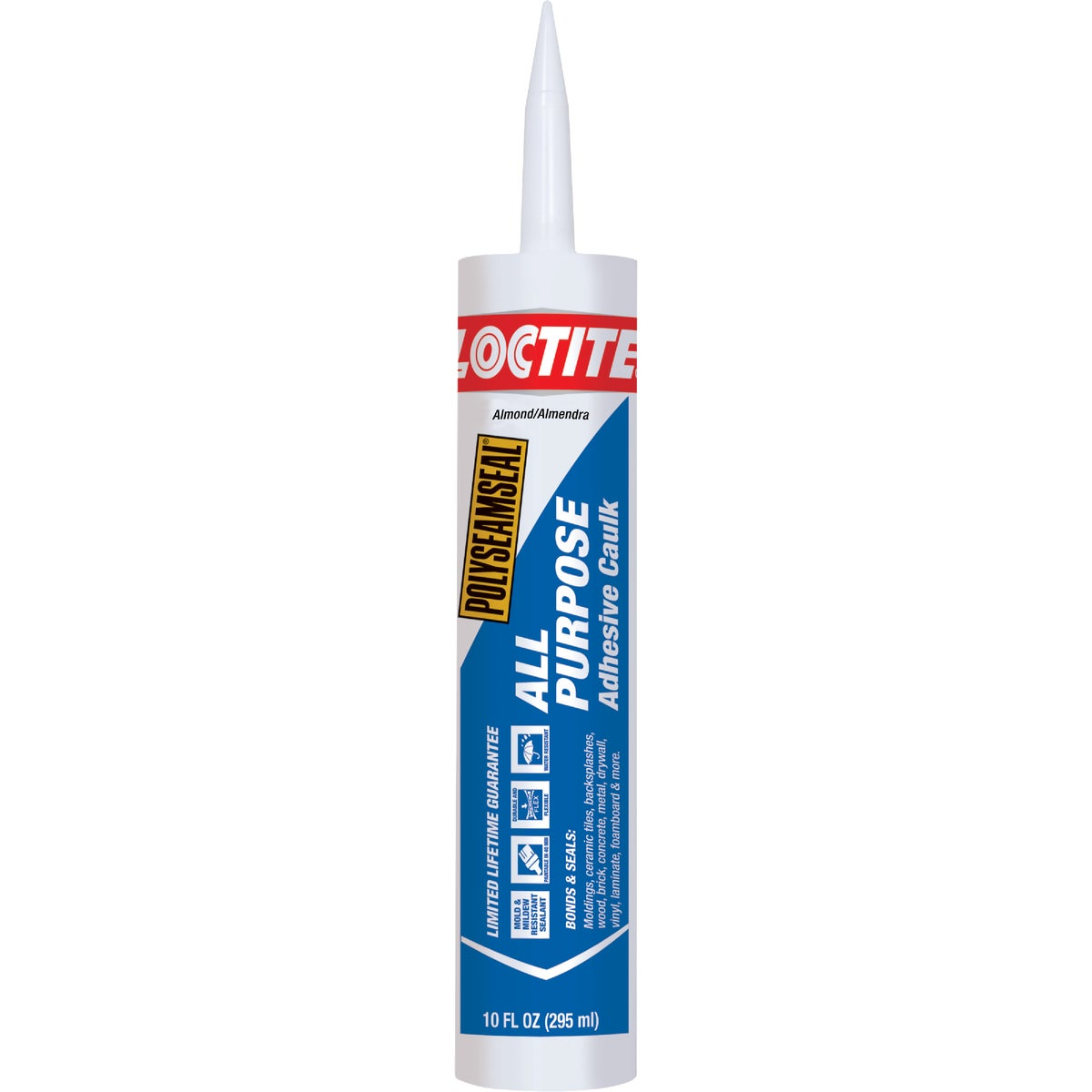 10OZ ALMD ALL-PURP CAULK - 1700028 by Henkel Corporation