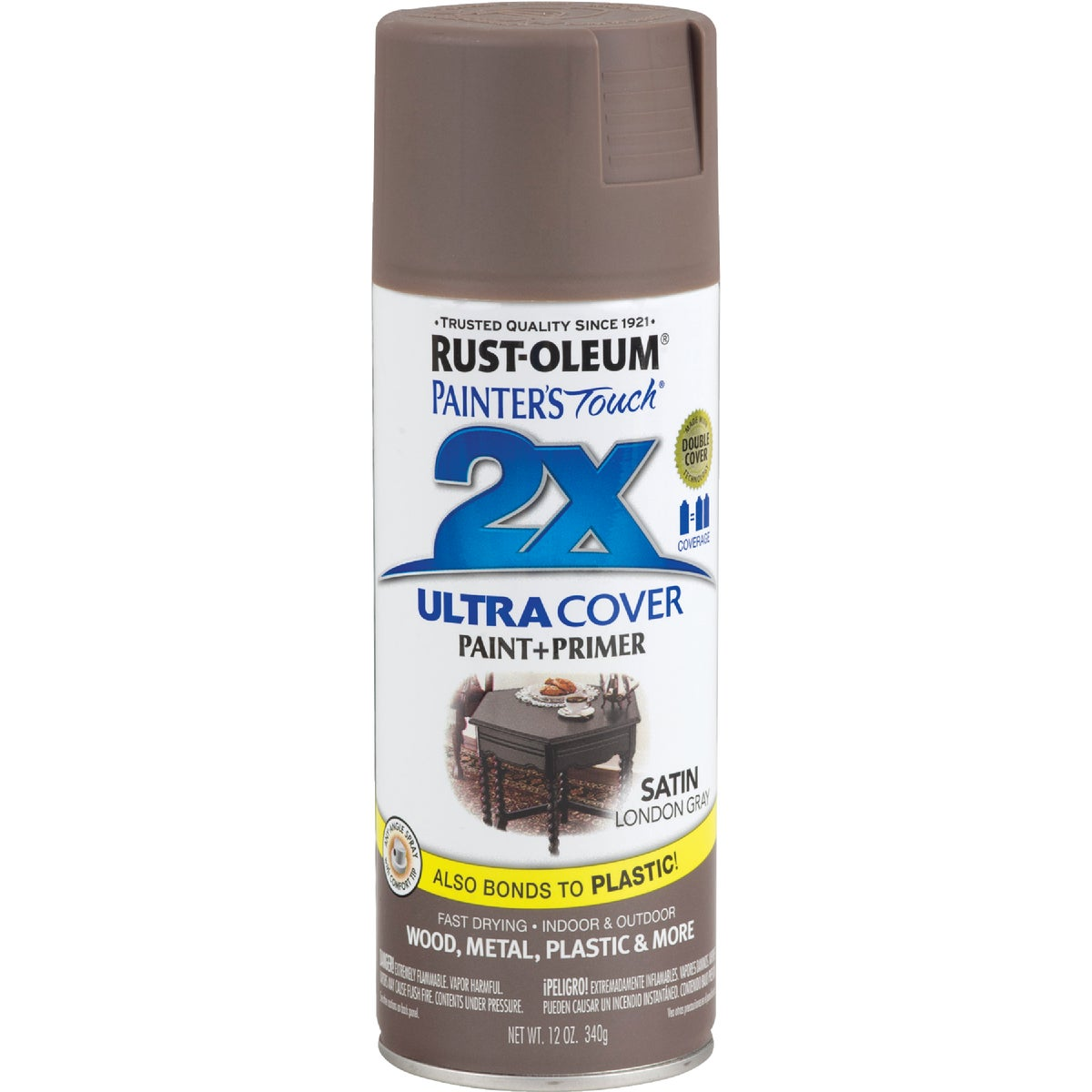 SAT LNDN GRY SPRAY PAINT - 249857 by Rustoleum