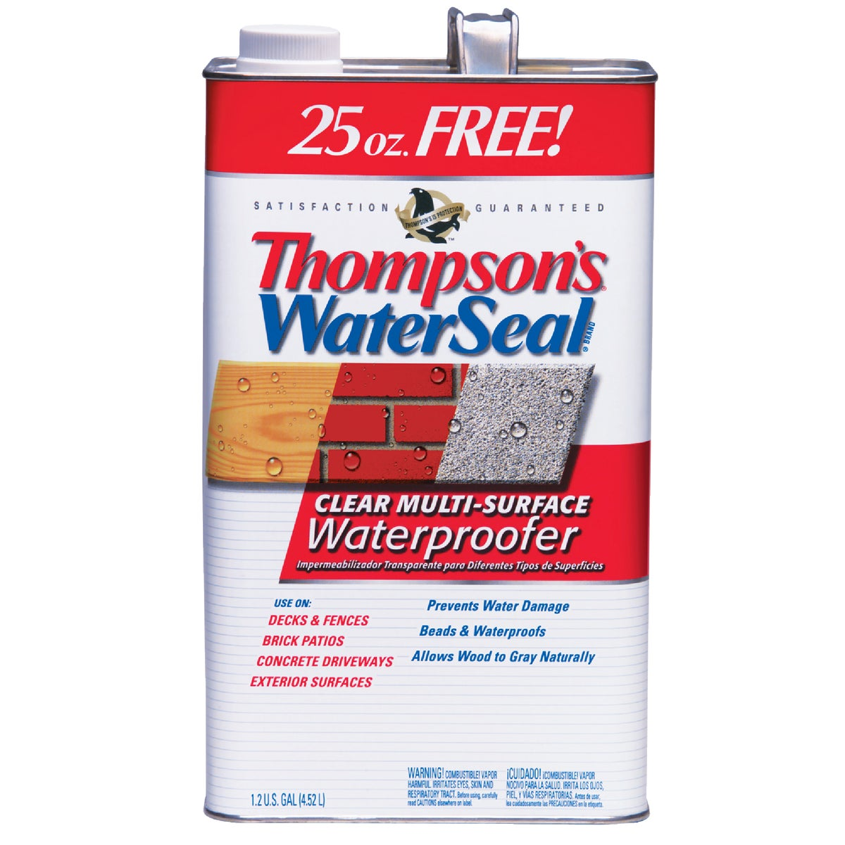 1.2GAL VOC CLEAR SEALER - 24111 by Thompsons