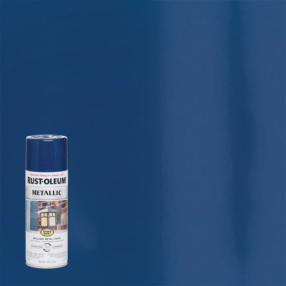 COBALT MTLC SPRAY PAINT - 7251-830 by Rustoleum