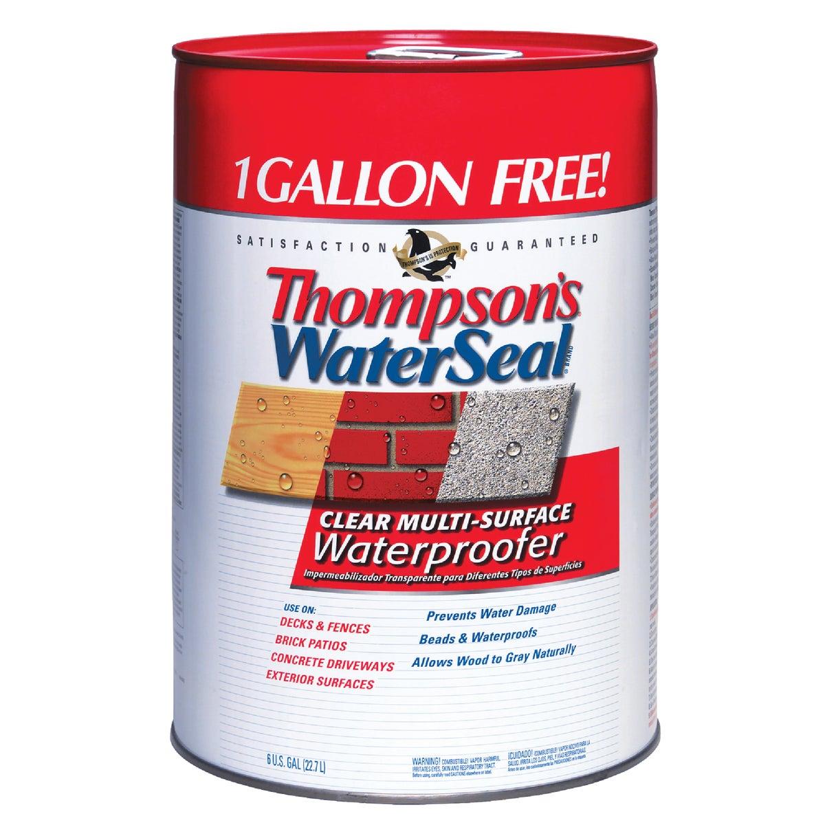 Thompsons 6GAL VOC CLEAR SEALER 24106