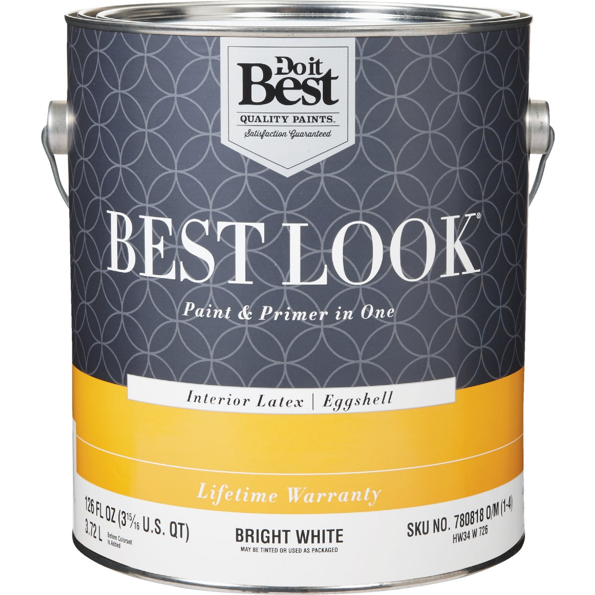 INT EGG BRIGHT WHT PAINT - HW34W0726-16 by Do it Best