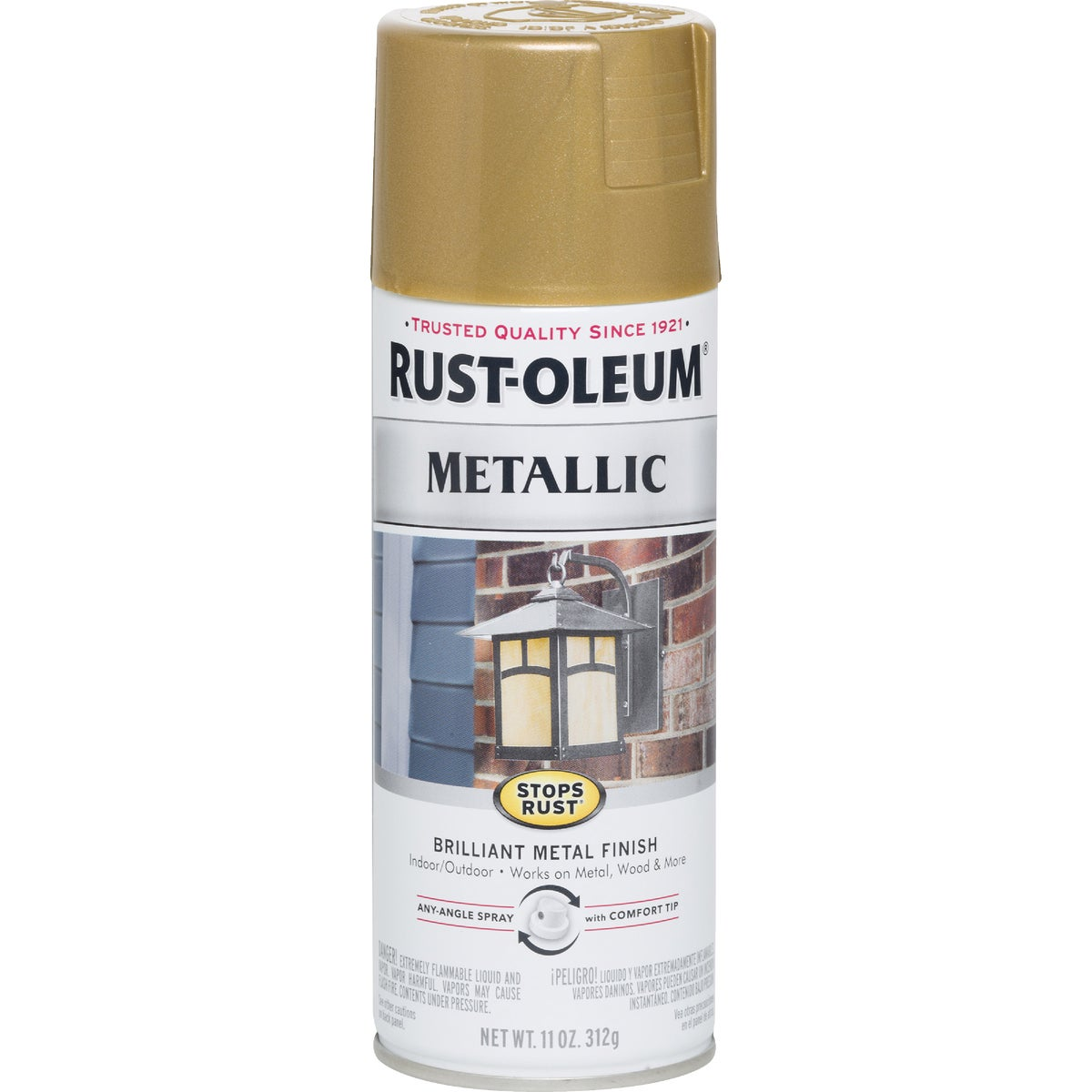 GLD RSH MTLC SPRAY PAINT - 7270-830 by Rustoleum