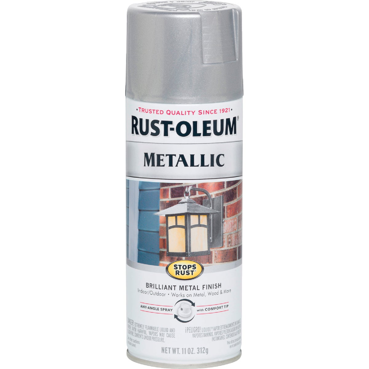 SILVER MTLC SPRAY PAINT - 7271-830 by Rustoleum