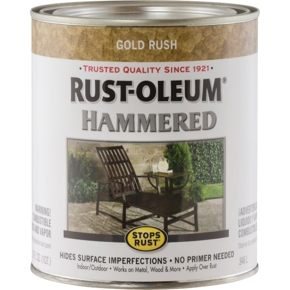 GOLD HAMMERED PAINT - 7210-502 by Rustoleum