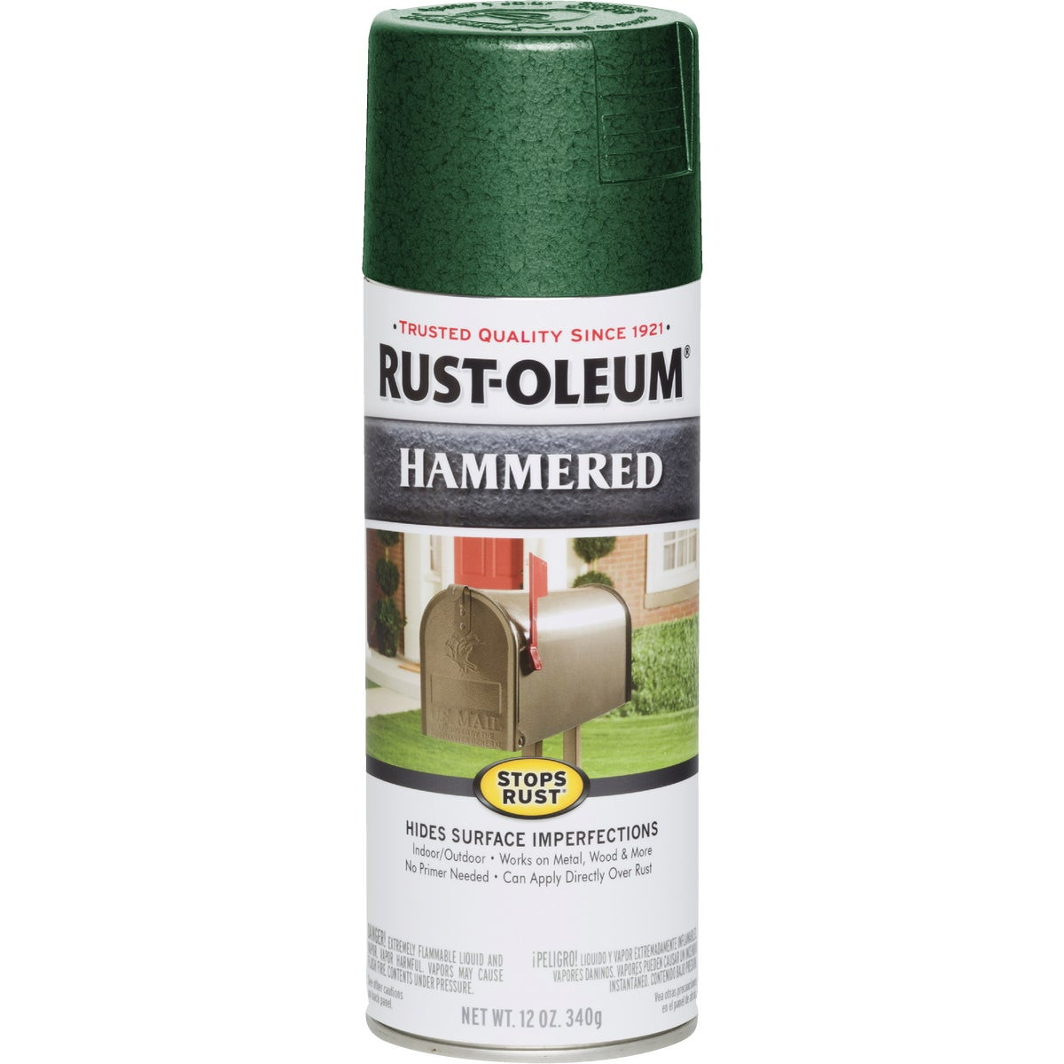 D GRN HAMMRD SPRAY PAINT - 7211-830 by Rustoleum