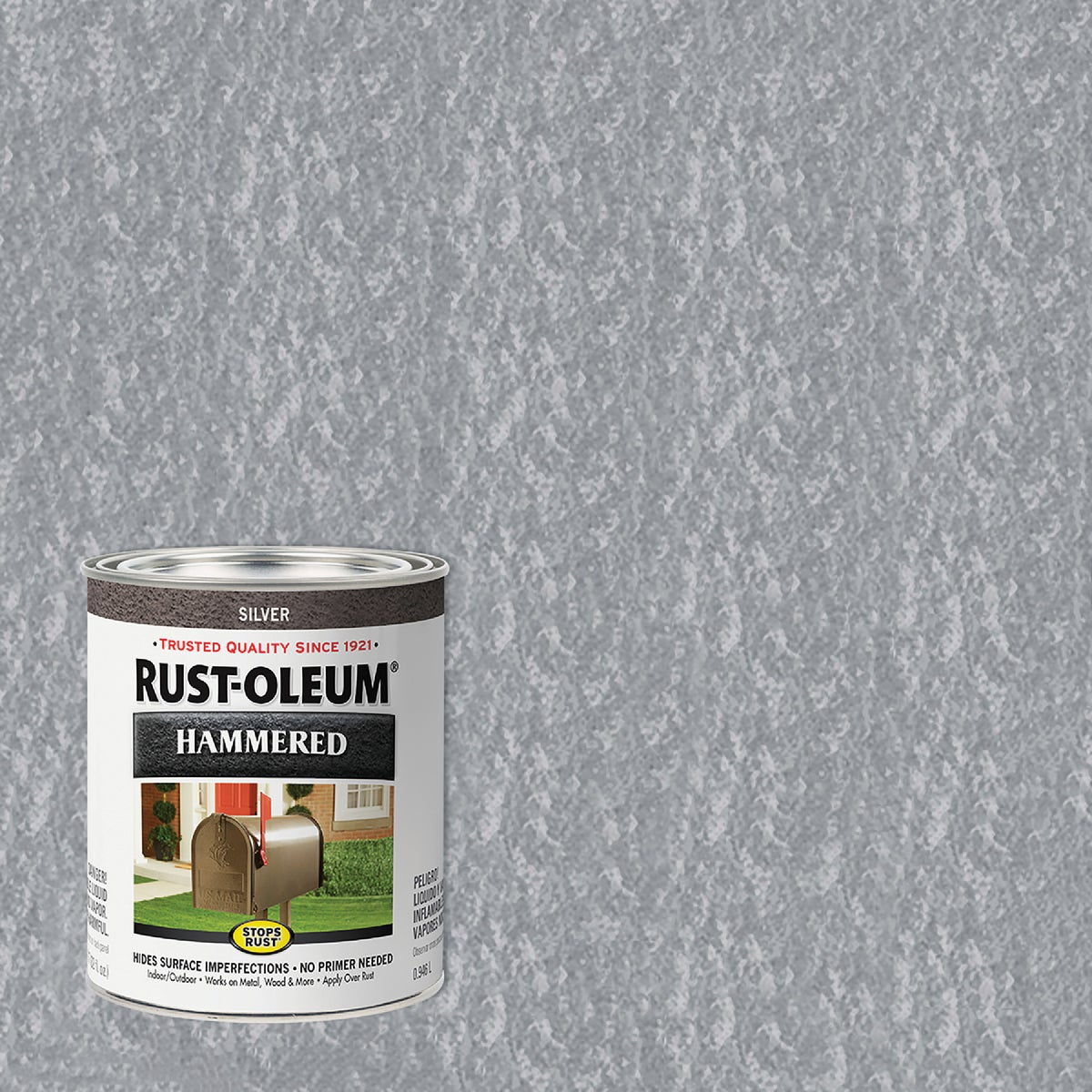 SILVER HAMMERED PAINT - 7213-502 by Rustoleum