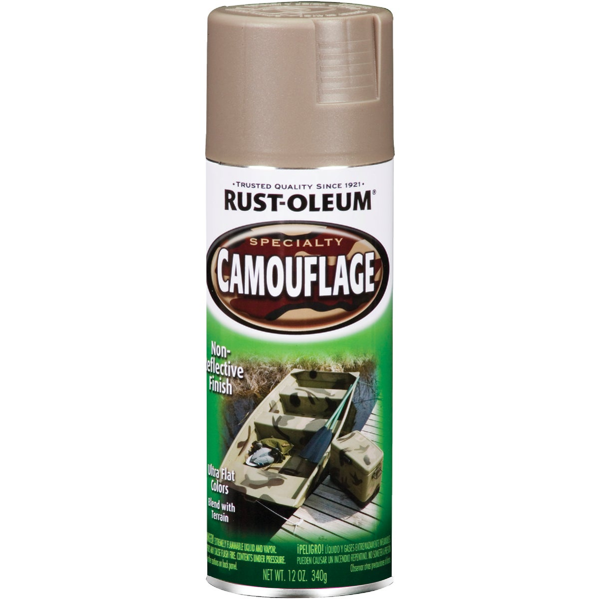 KHAKI CAMO SPRAY PAINT - 1917-830 by Rustoleum