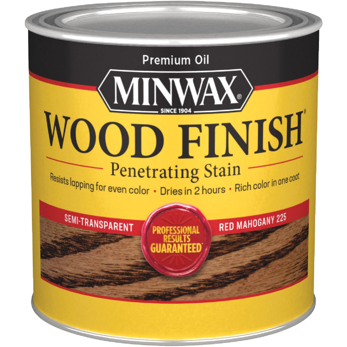 RED MAHOGANY WOOD STAIN - 222504444 by Minwax Company