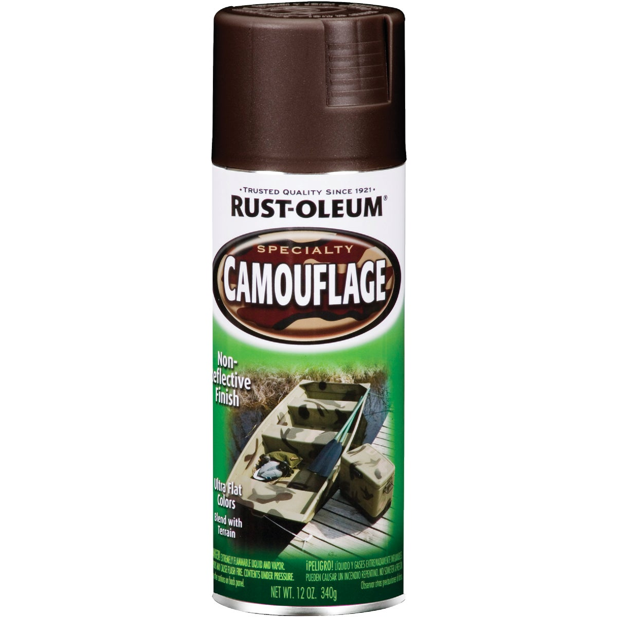 E BROWN CAMO SPRAY PAINT - 1918-830 by Rustoleum