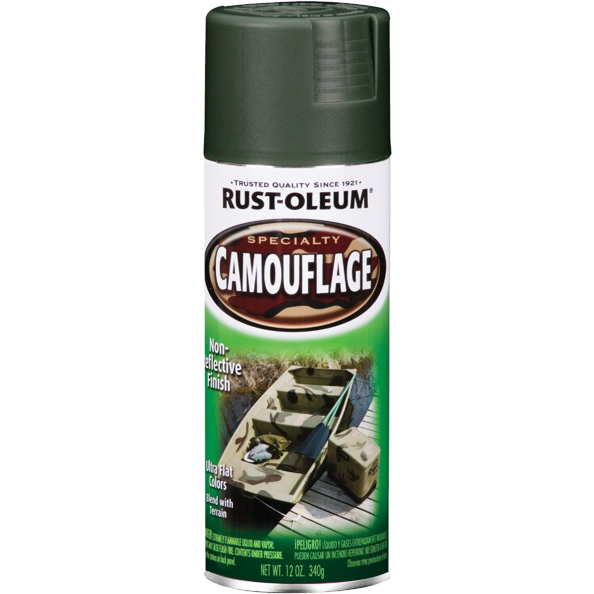 FOR GRN CAMO SPRAY PAINT - 1919-830 by Rustoleum