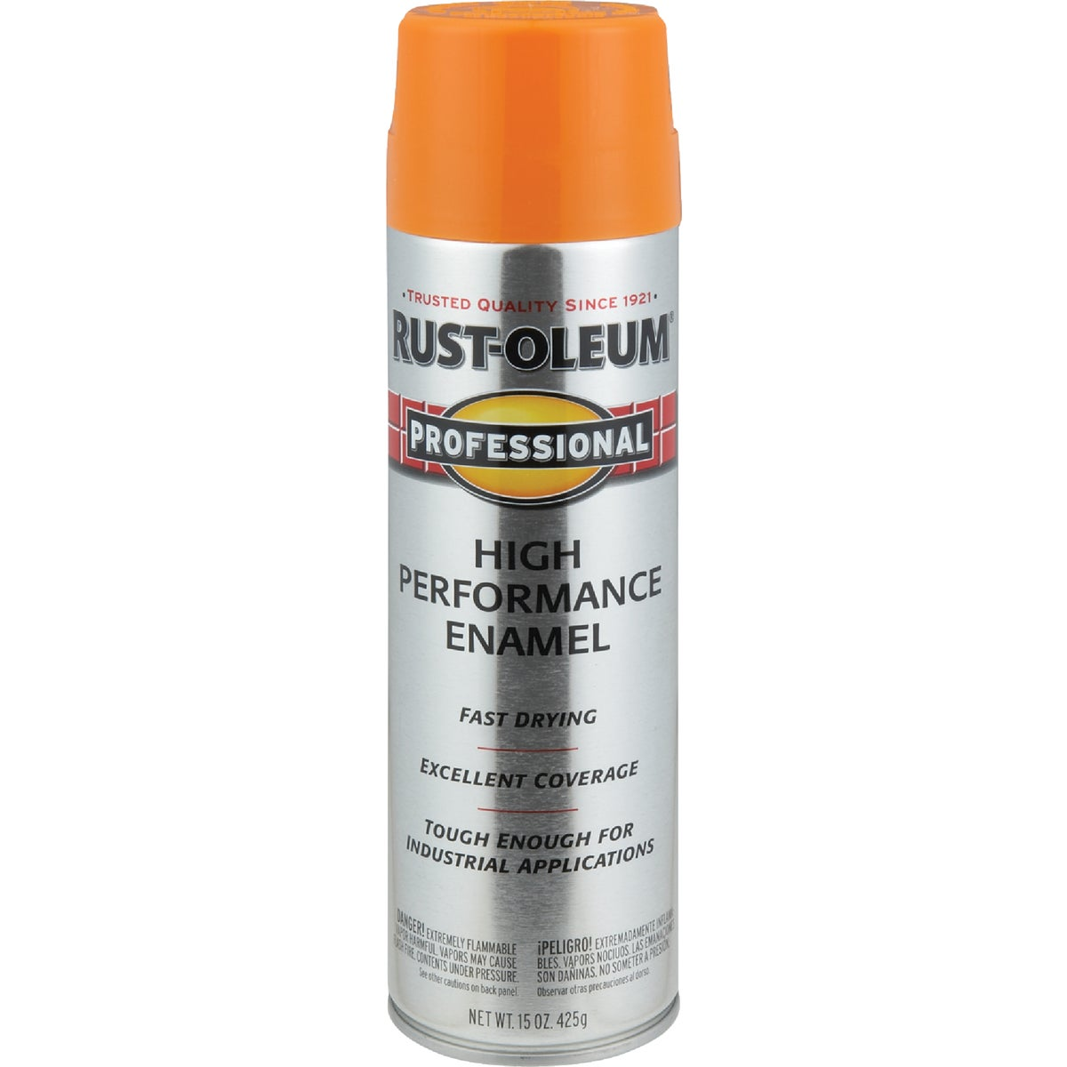 SAF ORNG PRO SPRAY PAINT - 7555-838 by Rustoleum
