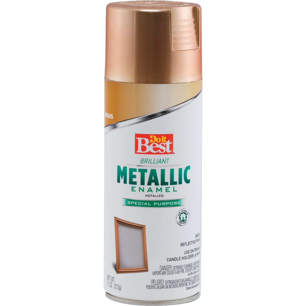 METALC BRASS SPRAY PAINT - 203294D by Rustoleum
