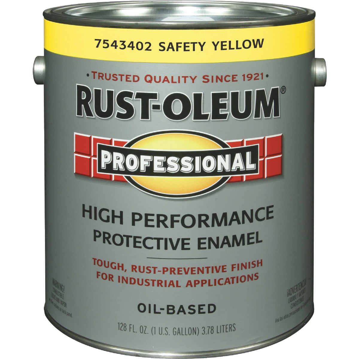 SAFETY YELLOW PRO ENAMEL - 7543-402 by Rustoleum