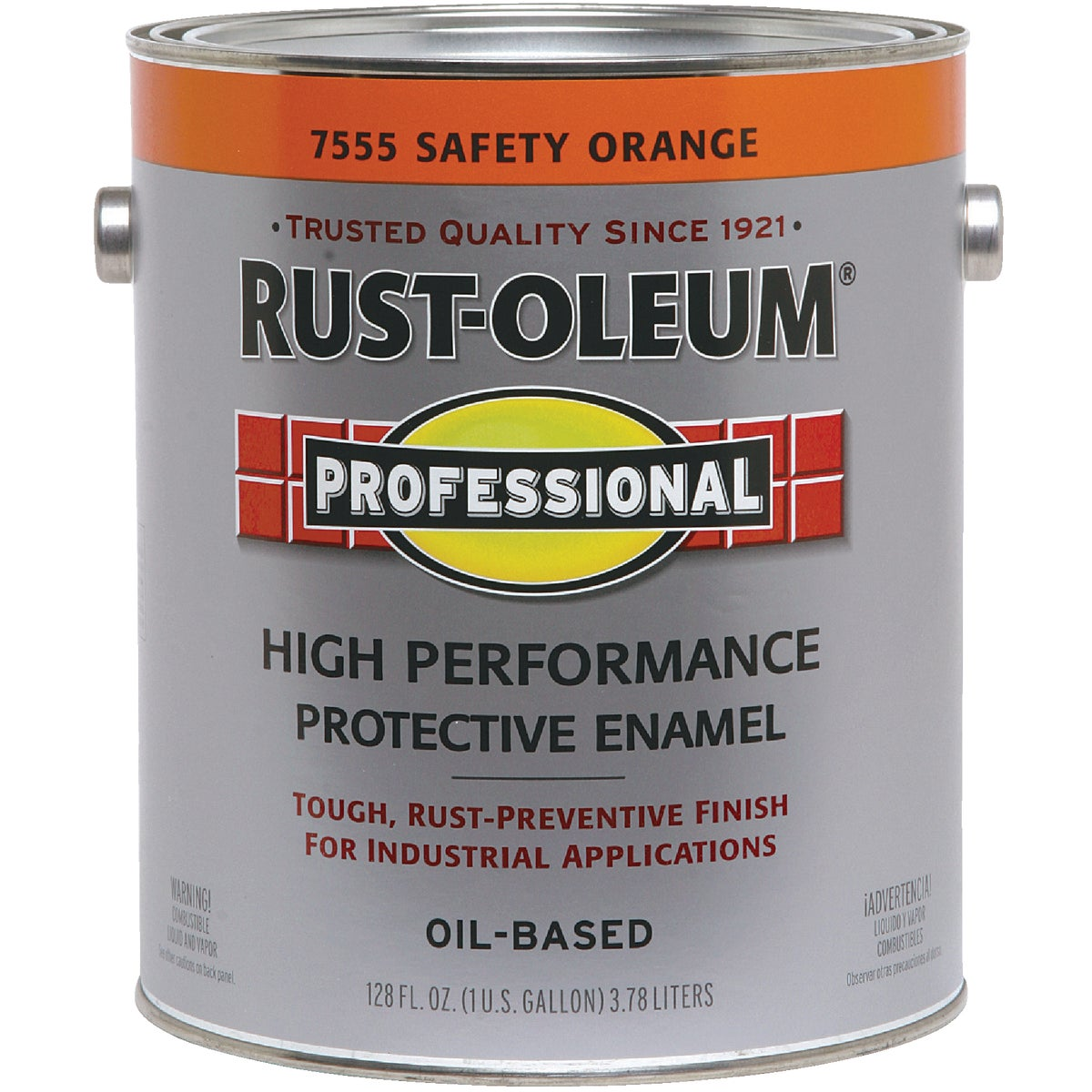 SAFETY ORANGE PRO ENAMEL - 7555-402 by Rustoleum