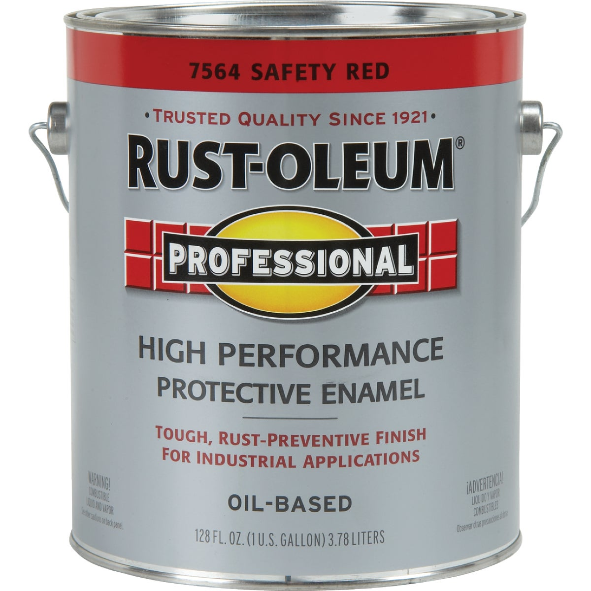SAFETY RED PRO ENAMEL - 7564-402 by Rustoleum