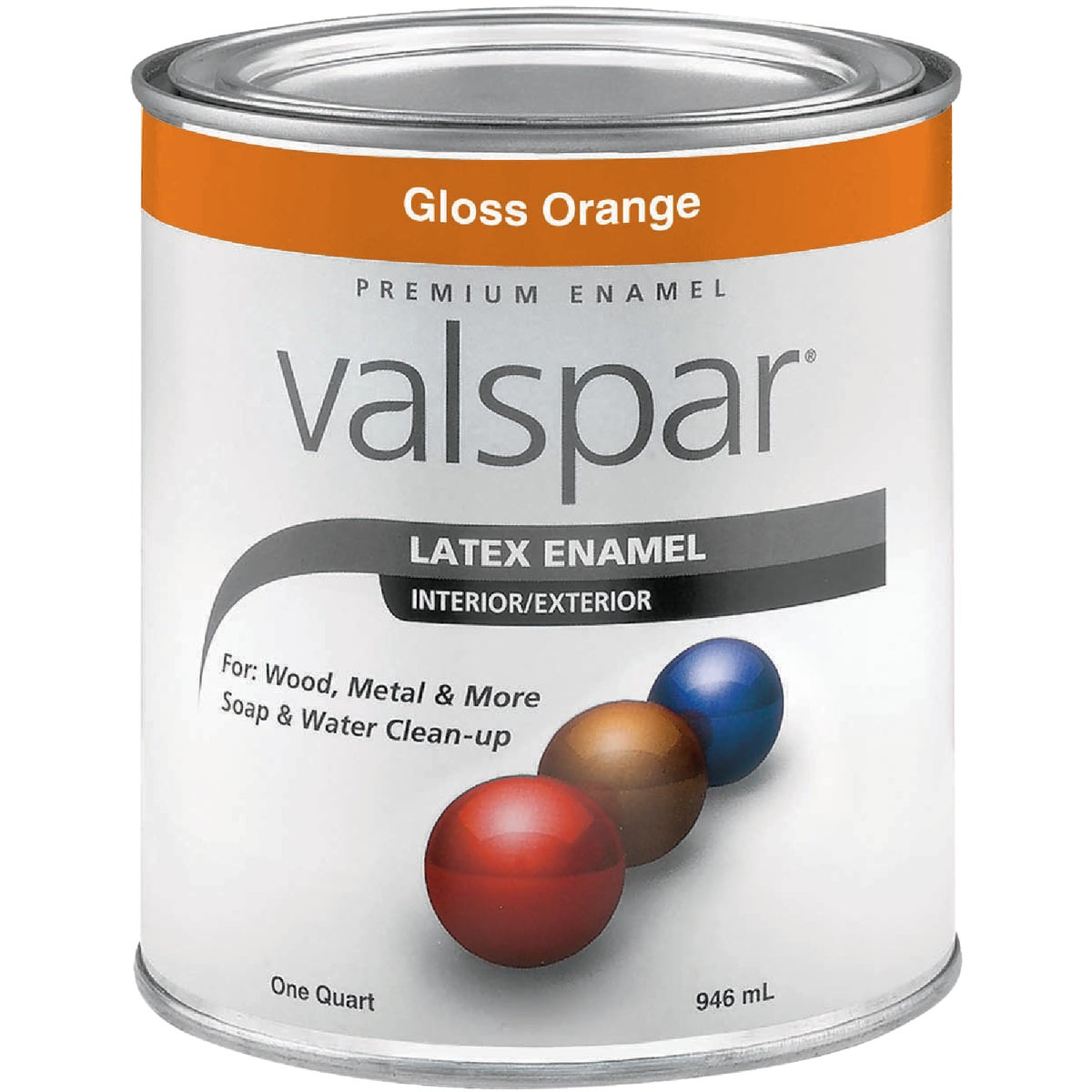 LTX ORANGE ENAMEL - 410.0065018.005 by Valspar Corp