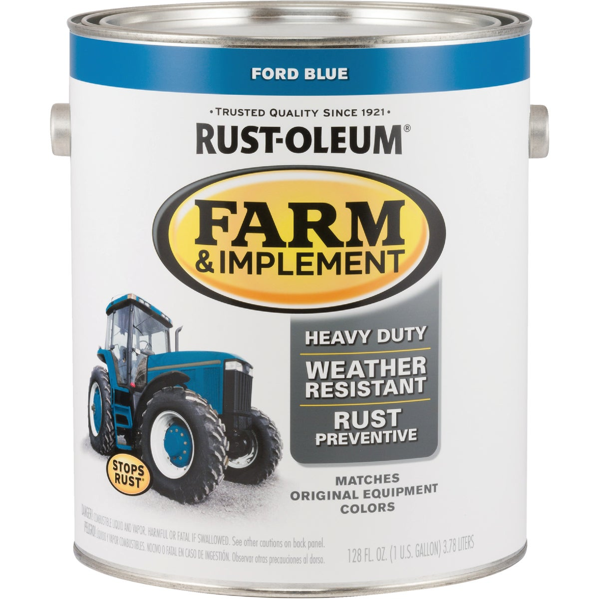 FORD BLUE IMPLMNT ENAMEL - 7424-402 by Rustoleum