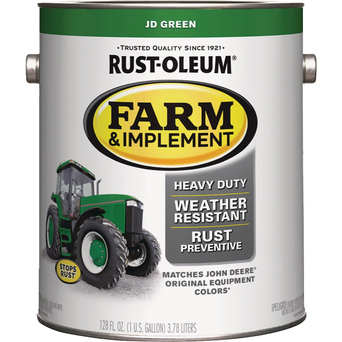 JD GREEN IMPLEMNT ENAMEL - 7435-402 by Rustoleum