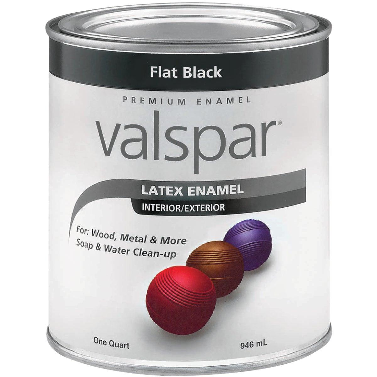 LTX FLAT BLACK ENAMEL - 410.0065050.005 by Valspar Corp
