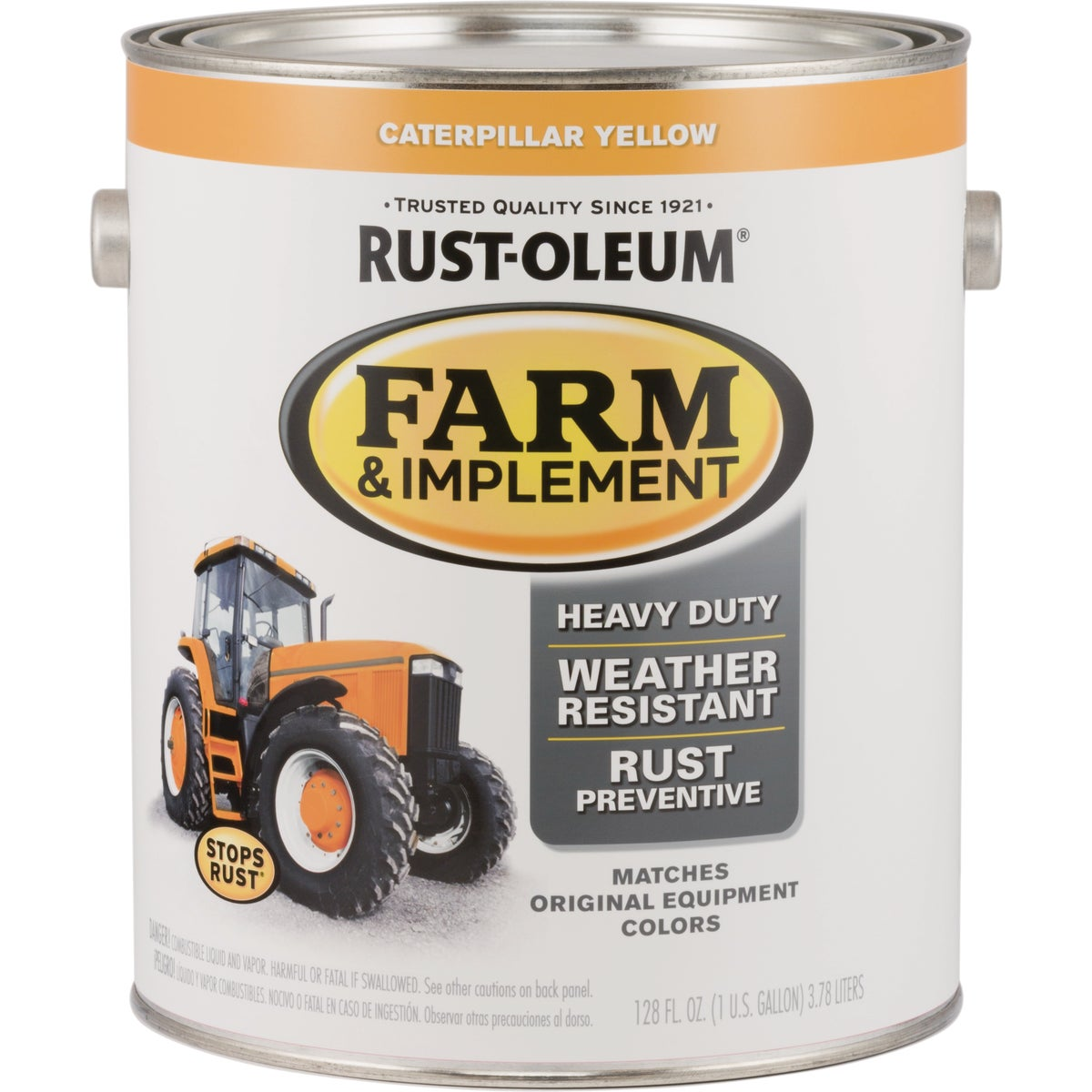 CAT YEL IMPLEMENT ENAMEL - 7449-402 by Rustoleum