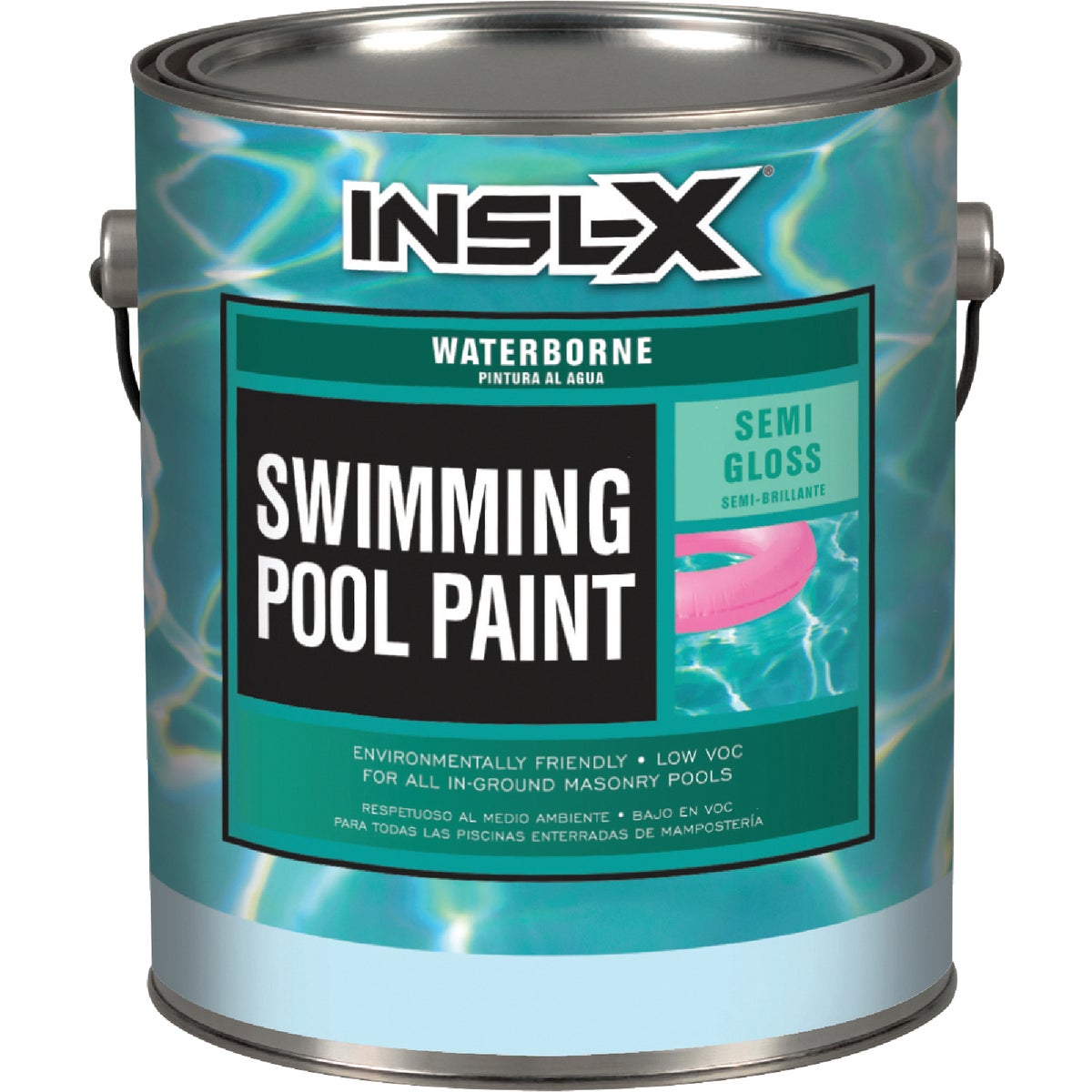 WHITE POOL PAINT - WR-1010 by Insl X Prod Corp