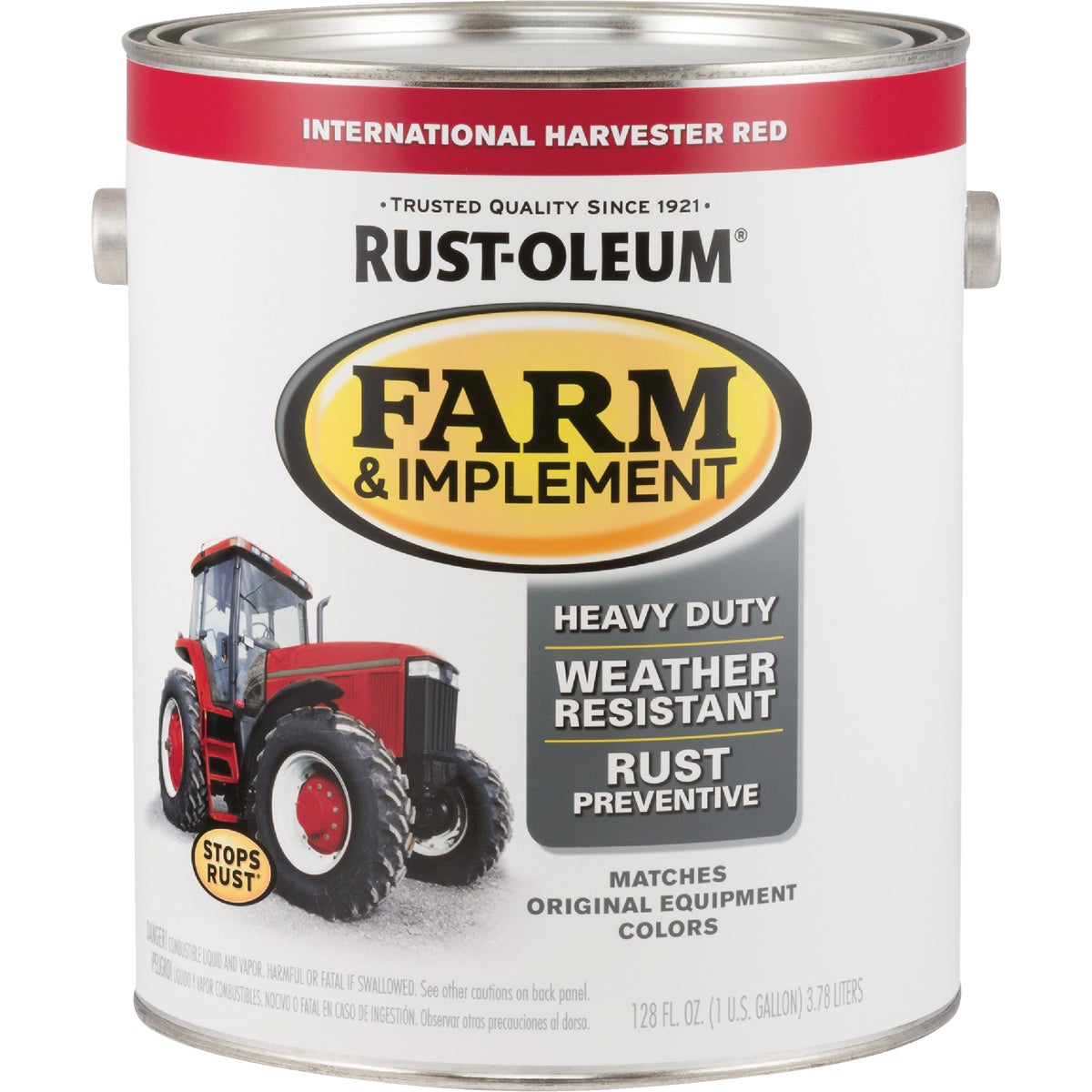 INTL RED IMPLEMNT ENAMEL - 7466-402 by Rustoleum
