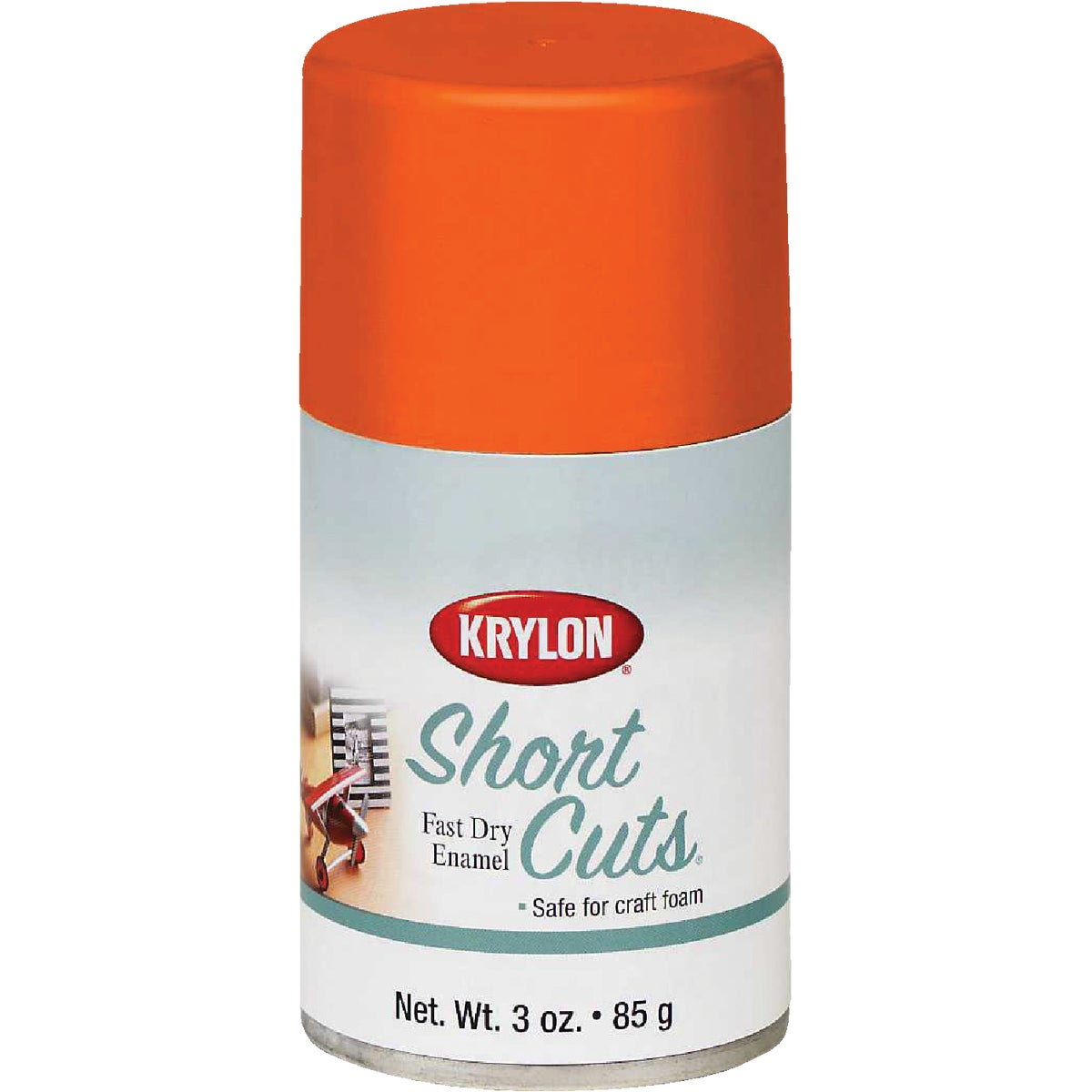 ORANGE GLOW SPRAY ENAMEL - SCS-050 by Krylon/consumer Div