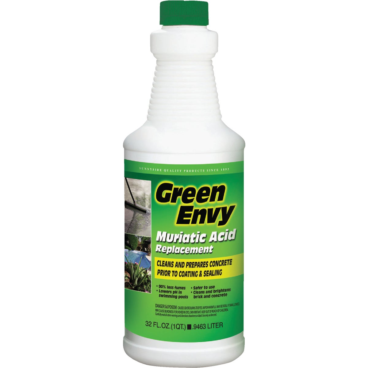 GREEN ENVY MURIATIC ACID - 61032 by Sunnyside Corp