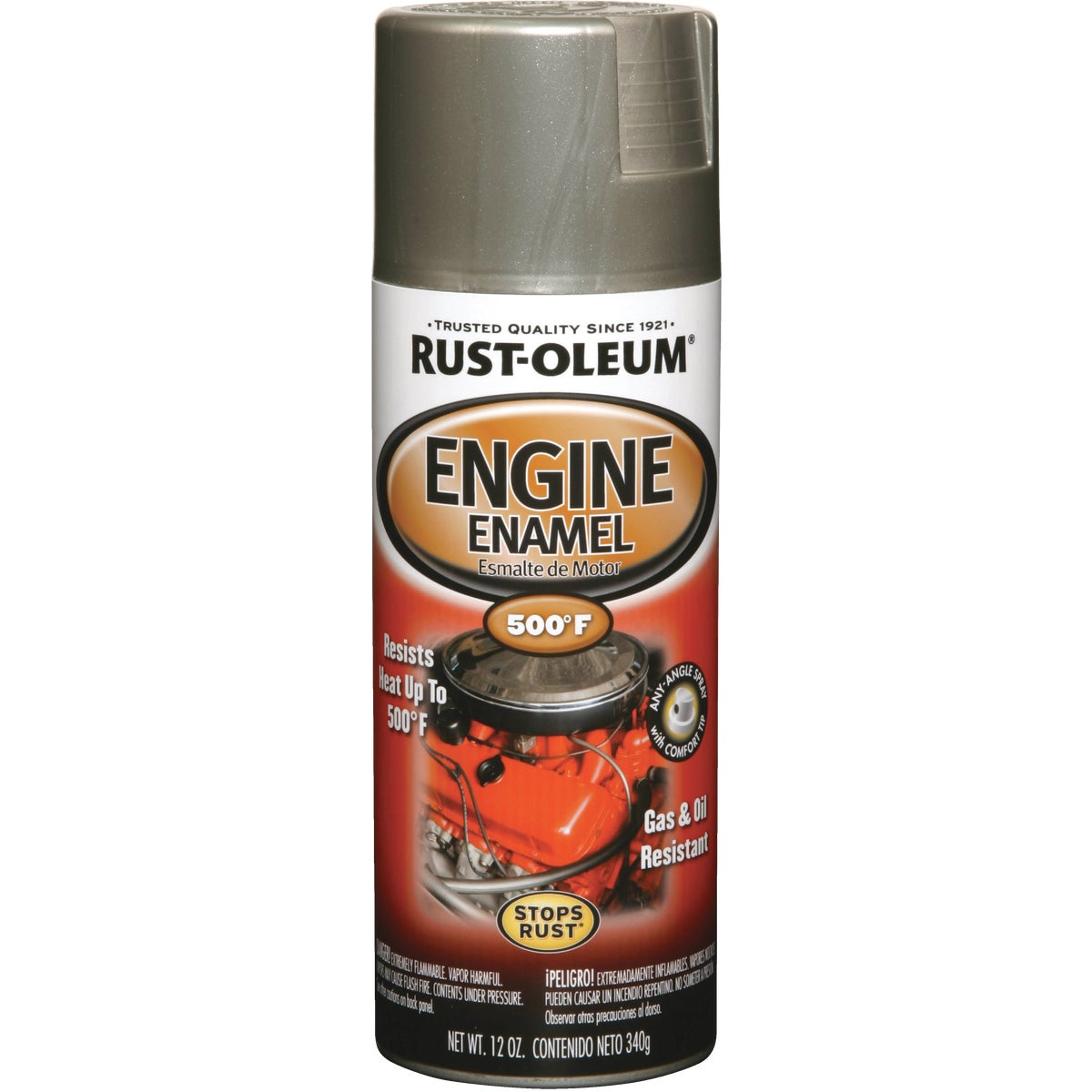 ALUMINUM ENGINE ENAMEL - 248949 by Rustoleum